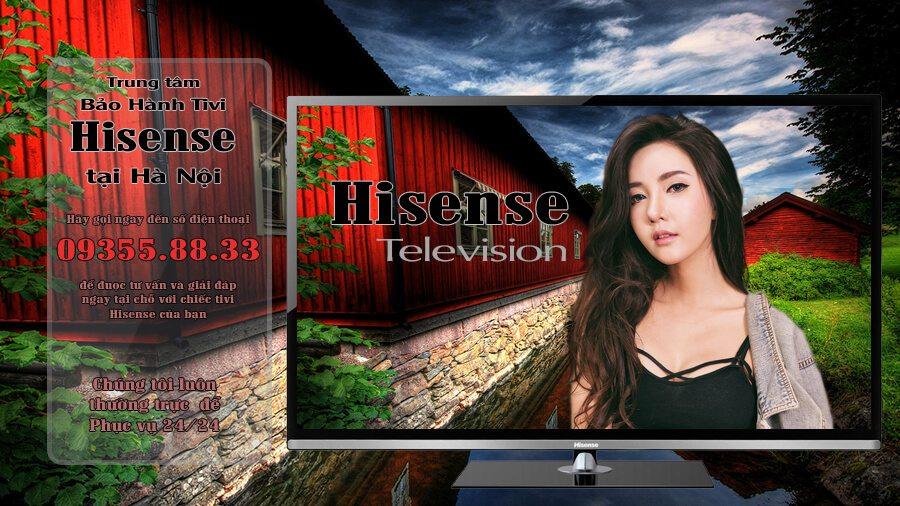 Bảo hành tivi Hisense tại Hà Nội