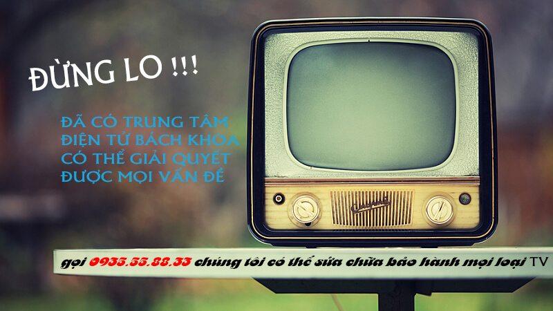bảo hành tivi national tại nhà