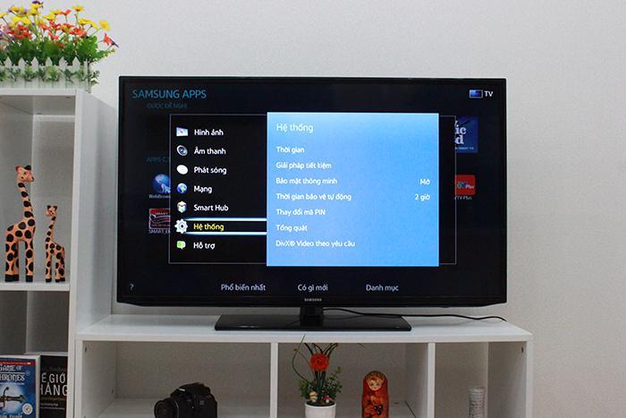 Chế độ tiết kiệm điện trên tivi samsung
