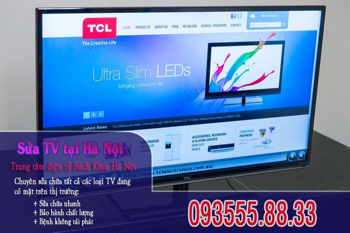 Sửa tivi TCL tại Hà Nội