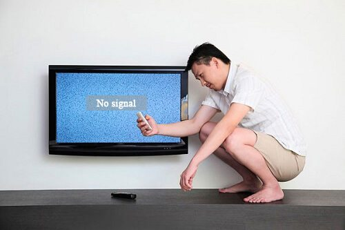 tivi bị mất tín hiệu