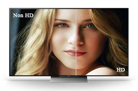tivi không hiển thị hình ảnh HD
