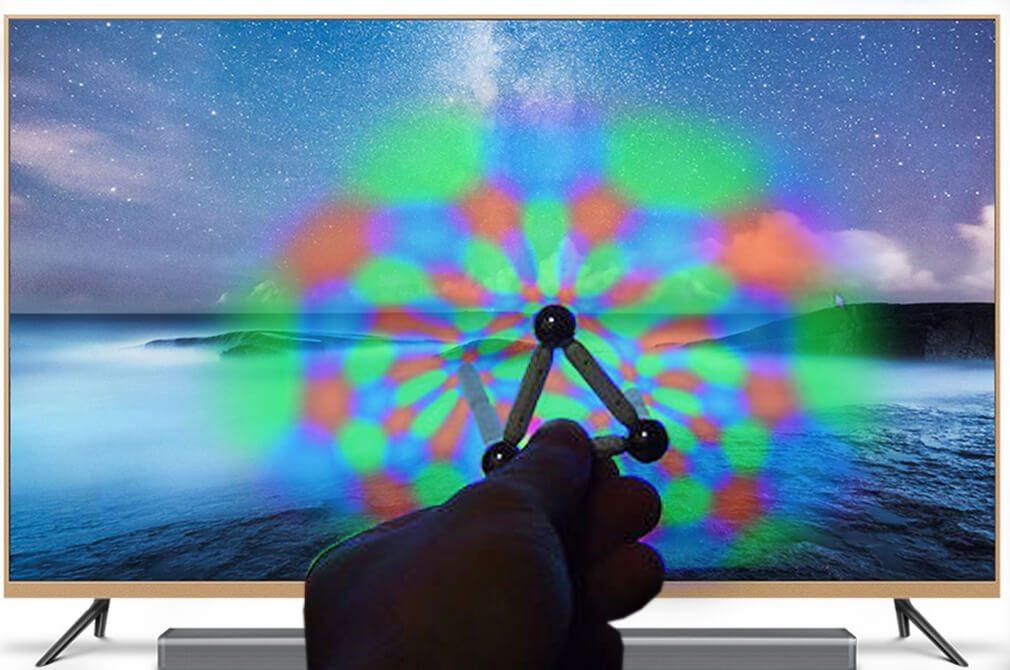 Cách sử dụng nam châm để khử từ cho tivi bị nhiễm từ