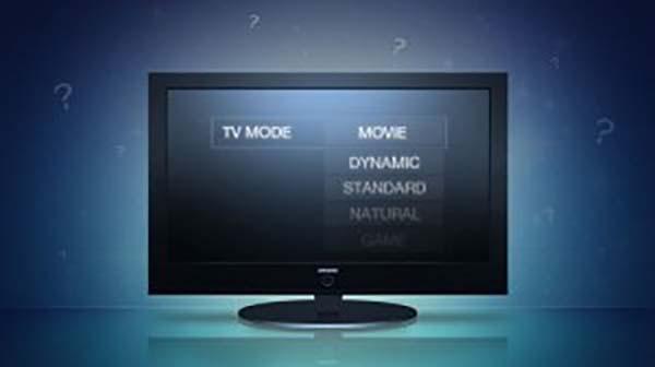 Cách chọn chế độ hình ảnh chuẩn trên tivi tại nhà